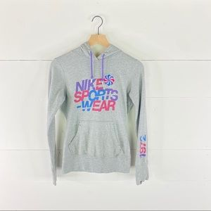 Nike Sports Pullover Hoodies Size S